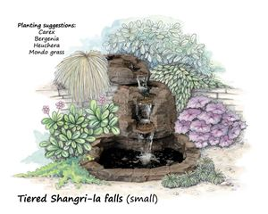 Picture of Tiered Shangri-la Falls (small)