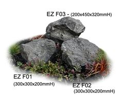 Picture of Quarry Rocks EZF01, EZF02, EZF03