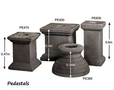 Picture of Pedestals