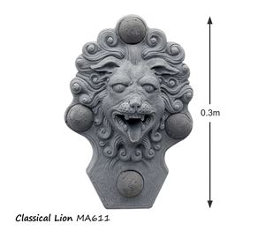 Picture of Classical Lion Wall Fountain