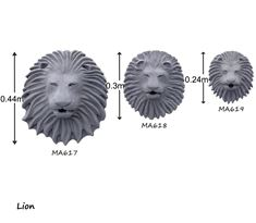 Picture of Lion Wall Fountains