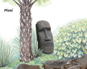 Picture of Moai Statue
